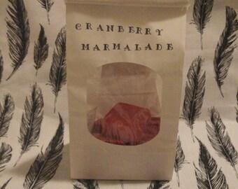 4oz!! soy wax melts, tarts,  cranberry marmalade, cubes
