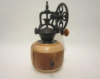 Hand made coffee grinder