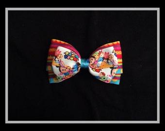 Disney Tsum Tsum hair bow, Tsum Tsum hair bow, disney hair bow, disney tsum tsum, hair bow, disney, tsum tsum