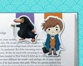 Newt & Niffler Magnetic Bookmark set