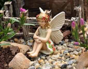 Fairy Caroline for Miniature Garden, Fairy Garden