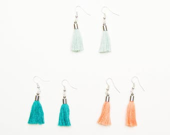 Tassle earrings | Tassel jewelry
