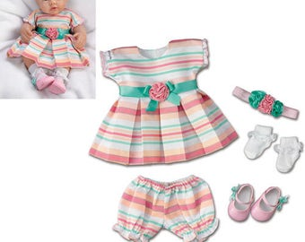Ashton Drake 15'' baby doll cloths - Party Princess Acessory Set / So Truly Mine Accessories