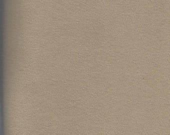Tan Cotton knit - 1 1/8 yards