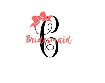Gold Glitter Bridal Party Decal DIY Bridesmaid Shirt Iron On - Glitter custom vinyl decals for shirts