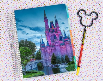 Disney World Erin Condren Life Planner Cover INSTANT DOWNLOAD - Cinderella Castle 18