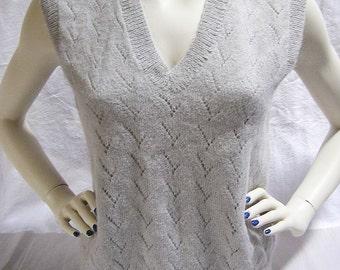 80s Cuddly Sweater / Merino Wool / Hugo Boss