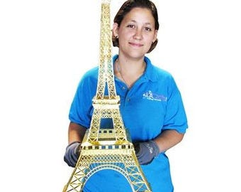 Metal Eiffel Tower Replicas (Large Size) - for party decorations and centerpieces