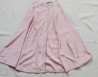 Vintage Eddie Bauer Printed Skirt