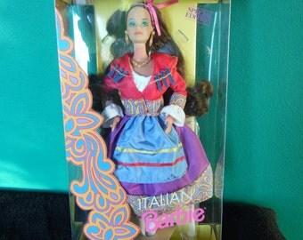 Mattel Dolls of the World Italian Barbie Doll