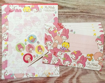 My Melody and Friends Letter Set from Japan