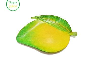 Mango Leather Tray