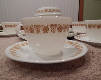 Corelle Butterfly Gold Dinnerware