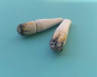 faux gauge marijuana weed cannabis joint blunt cigarette spliff bud stoner statement 420 ganja fake gauge earrings Free shipping