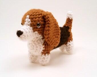 Basset Hound - Crocheted Dog