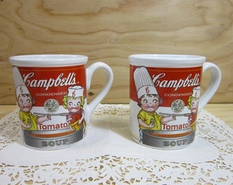 Set of Two Campbell's Condensed Tomato Soup Mug