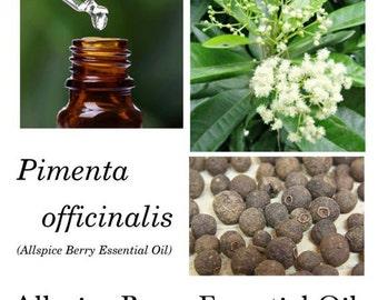 Allspice Berry Essential Oil, Allspice Essential oil, Pimenta officinalis, Pimenta Oil, 100% Pure Authentic Allspice EO
