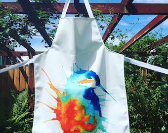 Kingfisher Apron