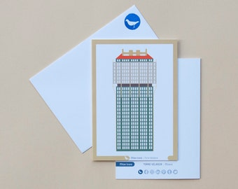 Milan Icons Greeting Cards-Rubin-Milan