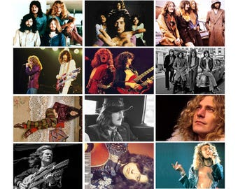 Led Zeppelin - 12 Postcard Sized Photo Gift Set