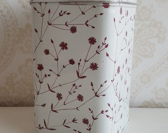 Vintage Marimekko Tin Container Made in Finland in 70s
