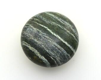 Green zebra jasper large palmstone crystal, zebra stone polished crystal one piece, zebra rock