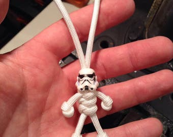 White Shadow Trooper Lego FOB