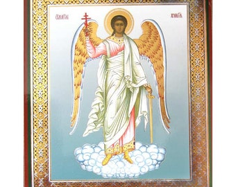 Guardian Angel russian icon - #42bb