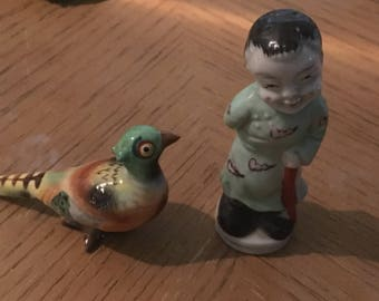 Antique Occupied Japan Salt and Pepper shakers