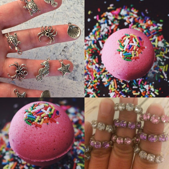 Lot Of 2 XL Ultra Lush Pink Birthday Cake Surprise Bath Bomb