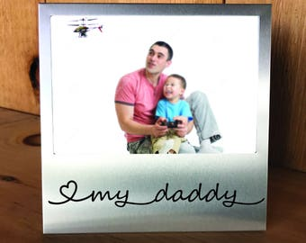 Love My Daddy Silver Picture Frame