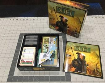 Foam Box Insert for 7 Wonders Duel + Pantheon