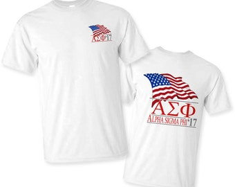 Alpha Sigma Phi Patriot Limited Edition Tee