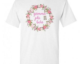 Gamma Phi Beta Maicy Floral Tees