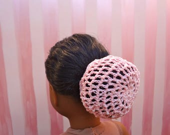 Beaded Bun Cover for 18 inch dolls