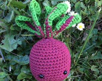 The crochet beet