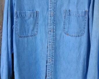 Vintage Levi Jean Shirt (42-44)