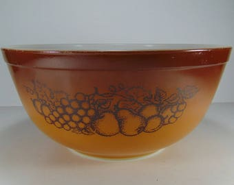 Vintage Pyrex Old Orchard Mixing Bowl 2.5 l - #403