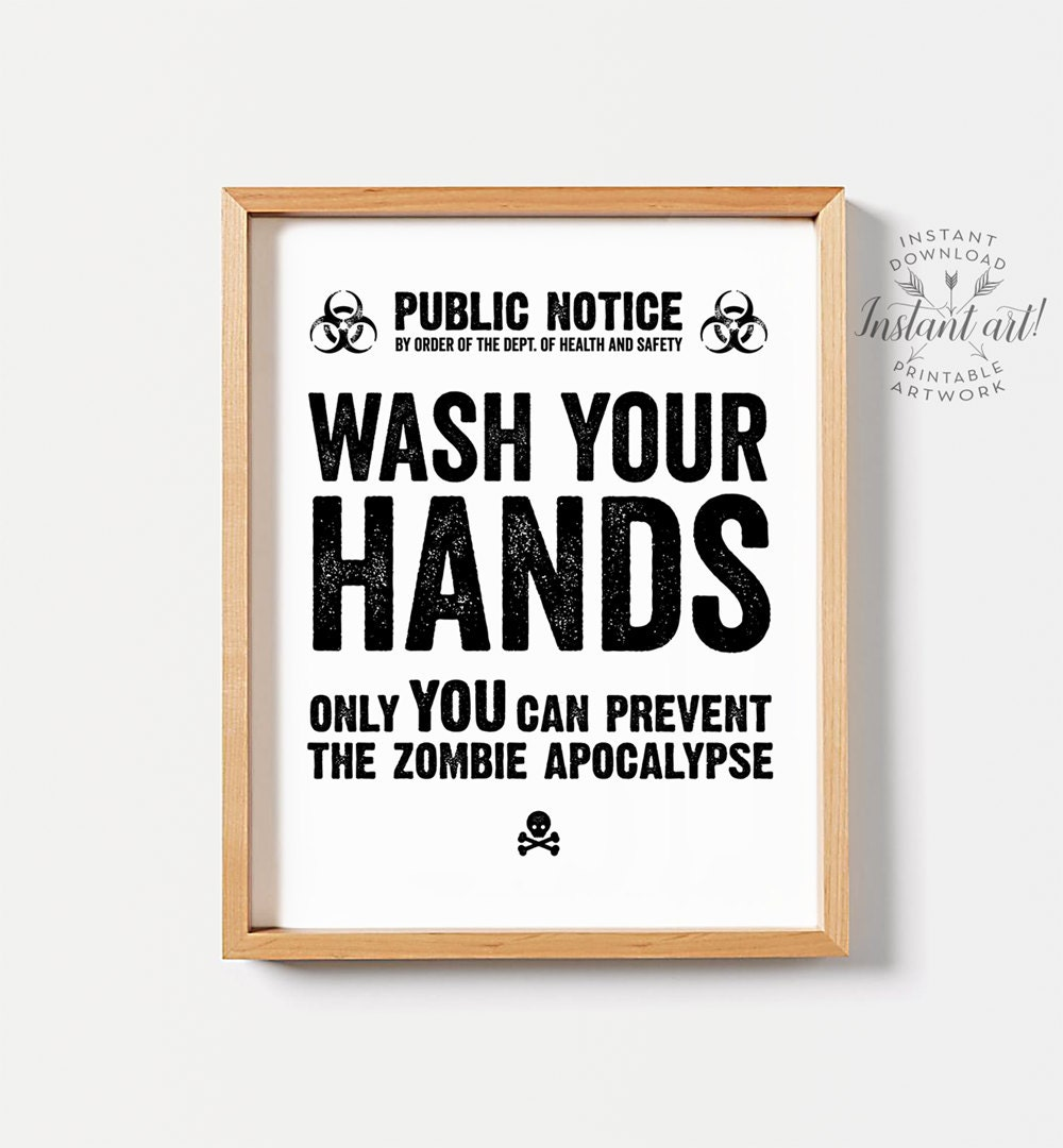 Funny wall art for bathrooms -  Zoom