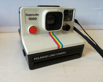 Polaroid land camera , super Color 1000