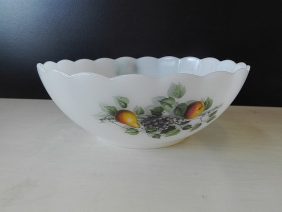 Arcopal bowl, Fruits de france, 23 centimeter