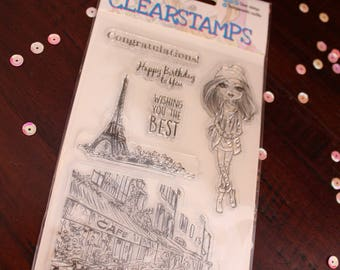 Travel Stamps - Clear stamps