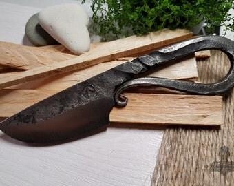 Viking Handmade Forged Steel Knife Scandinavian