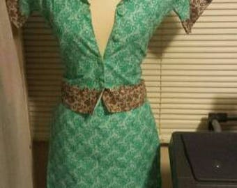 Beautiful African print suit