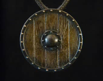 Nordic Shield: Bronze Pendant