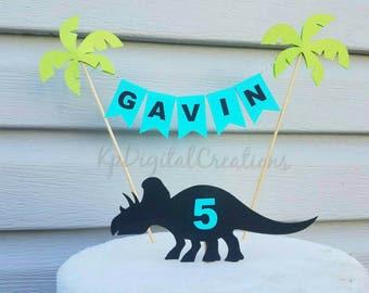 Dinosaur cake topper, Dinosaur birthday, Dinosaur party, Dinosaur, Dinosaur baby shower, Jurassic Park Birthday