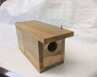 Qty 2 BIRD HOUSE KITS-do it yourself and decorate uniquely