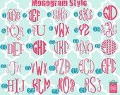 DIY monogram iron on decals - monogram - DIY - monogrammed - colors - heat transfer decals - heat transfer monogram -monogrammed - iron ons