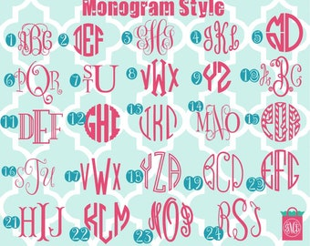 DIY monogram iron on decals - monogram - DIY - monogrammed - colors - heat transfer decals - heat transfer monogram -monogrammed - iron ons