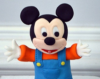 Baby mickey mouse cake topper   Etsy